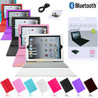 For Apple iPad Mini Leather Bluetooth Wireless Keyboard Case Cover With Stand
