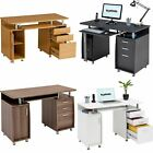 Computer Desk with Storage & A4 Filing Drawer Home Office - Piranha...