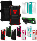 TRI-SHIELD KOMBO SKIN CASE STAND BELT CLIP HOLSTER FOR MOTOROLA DROID MAXX/ULTRA