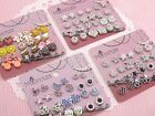 Wholesale Lot of 12 Girl Cute Magnetic Studs Earrings