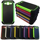 Hybrid Best Impact Dual Layer Case Cover For Samsung Galaxy S3 SIII i9300