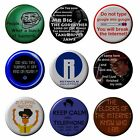 The IT CROWD Badges Various 2.5 cm Button I.T Geek Dork Humour HandCrafted