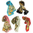 1PCS Classical Pattern Large Square Scarf Head Scarves Shawl Wrap Kerchief