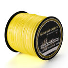 Super Strong  8Strands Braided Dyneema Sea Fishing Line Agepoch 300M Yellow