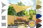 Kookaburra Shade Sail Sun Canopy Patio Awning Garden 93% UV Breathable Outdoor