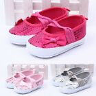 3-18Months Girls Baby Toddler Infant Bling Anti-slip Crib Shoes Nursery Slippers