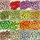 Bulk! 8mm Acrylic Round Miracle Magic Beads Bracelet Jewelry Charms Loose Beads
