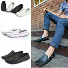 New Mens Spring Soft Casual Faux Leather Loafers Slip On Moccasin Driving Shoes