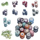 Solid Charms Lampwork Murano Glass Big Hole Beads For European Bracelet Making