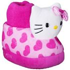 HELLO KITTY SANRIO Plush Cushioned Sock-Top Plush Slippers NEW Sz. 9/10 or 11/12