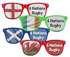 New Rugby Union 6 Nations Supporters Sunglasses Scotland England Ireland Wales