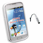 S-Line Wave TPU Soft Case Cover For Samsung Galaxy S Duos S7562  + Stylus S