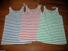 LANE BRYANT Striped Ribbed Tank Top ~ Choose ~ NWT