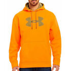 Under Armour Camo Big Logo Fleece STORM Hoodie (Blaze Orange) 1220613-825