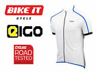 NEW BLUE EIGO CLASSIC SHORT SLEEVE JERSEY FOR ROAD RACING CYCLISTS FREE P&P