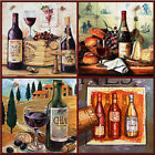 Vintage Classy Still Life - great moments with wine & cheese gift picture plaque
