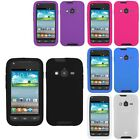 For Samsung Galaxy Rugby Pro i547 Rubber SILICONE Soft Gel Skin Case Cover
