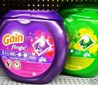 Gain Flings! 3 in 1 Laundry Detergent Oxi Boost Febreeze 57ct Pacs ~ Pick One