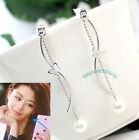 Korean TV You who came from the stars Jun Ji-hyun butterfly Wavy layer Earrings