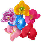 Large 10cm Orchid Flower Floral Hair Clips. Bridal Wedding Accessory.