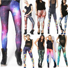 Sexy Multi-Colour Tetris&Galaxy&Star War Galaxy Patterned Pants Leggings Tights