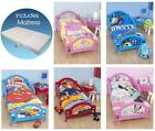 Character Junior Toddler Beds with Mattress - New - Boxed