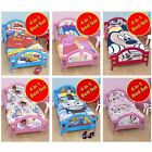 DISNEY & CHARACTER 4 IN 1 TODDLER BEDDING BUNDLES - DUVET + PILLOW + COVERS
