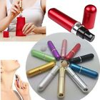 3× Mini Refillable Travel Perfume Atomizer Bottle Spray Scent Pump Case Color US