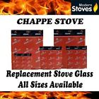 Chappe Replacement Stove Glass - Heat Resistant
