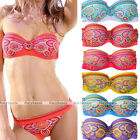 Summer Sexy Women Beach Push-up Bandeau Bikini Swimsuit Bathing Suit Swimwear
