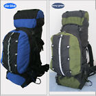 Large 80L Waterproof Nylon Outdoor Backpack Camping Hiking Child-Mother Packs