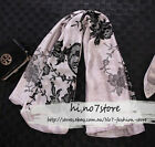 Exclusive Elegant Luxury Mulberry silk lace pattern women lady square scarf