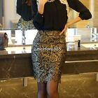 New Fashion 2014 OL Style Knee-length Slim Sexy Lace Pencil High Waist Skirt