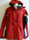 NEW Men's Chiemsee GORE-TEX Red Jacket BLACK WHITE parka