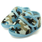 Baby Boy Toddler Camouflage Soft Sole Crib Anti-slip Prewalker Shoes Sneakers
