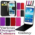 **VARIOUS STYLES**LEATHER FLIP CASE FOR SAMSUNG GALAXY MOBILE PHONE COVER POUCH