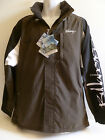 NEW Men's BILLABONG Jacket BROWN Water Resistant Black White