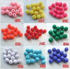 100pMixed Miracle Acrylic candy Round Spacer Bead jewelry findings DIY 6/8/10mmD