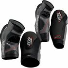 Troy Lee Designs Shock Doctor MTB DH Bike Elbow/Forearm Guards Armour Pads Black