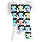 Betty Boop Cartoon Warhol-Esqe Juniors T-Shirt Tee $33.11 CAD on eBay