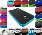 FOR SAMSUNG GALAXY S V 5 S5 MYBAT VERGE DUAL LAYER HYBRID CASE COVER+STYLUS