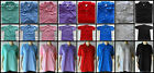 1 Casual mens short sleeve collared polo shirt golf sports beach pool SIZE M