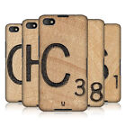 HEAD CASE SCRABBLE TILES SNAP-ON BACK COVER FOR BLACKBERRY Z30