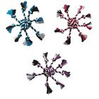 ROPE TOYS FOR DOGS ! Crazy 8 Dog Toy - Monkey Fist & Eight Tug Knot Tassels NWT