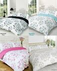 Stephanie BUTTERFLY Reversible Duvet Quilt Cover + Pillow Cases Bedding Set