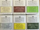 KROCUS KOZANIS HERBAL BLACK GREEN WITH SAFFRON TEAS TEA SACHETS