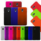 Hard Rubberized Case Matte Snap On 2-Piece Cover For LG Phones