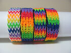 rainbow loom quadruple fishtail bracelet rainbow colors you choose style