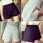 European Style High Waist Shorts Fashion Women's Short Pants Free Shipping  C95