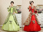 NWT sexy woman Victorian Gothic Period bownot Dress Ball Gown Theare Clothing